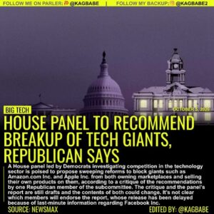 A House panel led by Democrats investigating competition in the technology secto