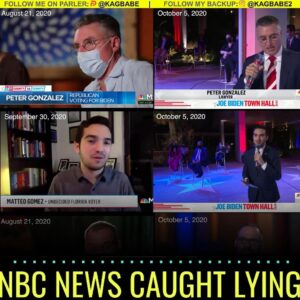 "CAUGHT using fake ""undecided voters"" who were featured on MSNBC last month sayi"