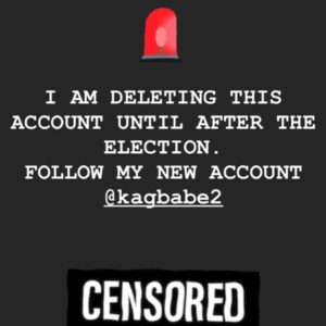 Read more about the article ATTENTION: I have to disable this account due to the RIDICULOUS amount of censor
