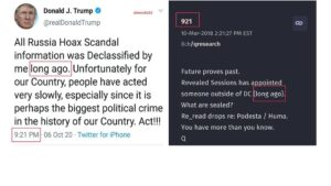 Long AgoFuture proves past. Revealed Sessions has appointed someone outside o