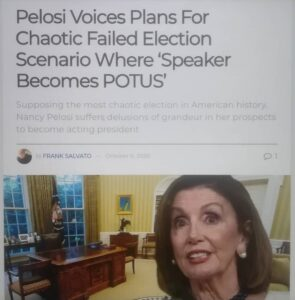 the bella donna of crimefamily  aka speaker of the cabal.. has plans