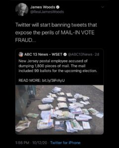 I don't think anybody can keep track of all this ballot fraud, it's like its not