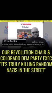 """BREAKING: Denver area  exec committee and  chair """"2020 is a political revolution"""