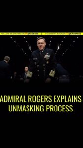 Everyone needs to listen to Admiral Rogers explanation about the unmasking of an