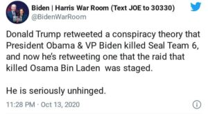 Hope you got yer shittin' pants on Biden?  >>Anon, here is Biden/Harris' respons