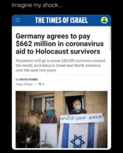 Read more about the article They lied about everything, except the holocaust…they never lied about that.