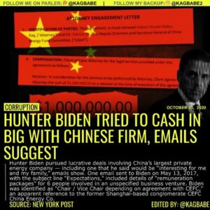 Hunter Biden pursued lucrative deals involving China's largest private energy company