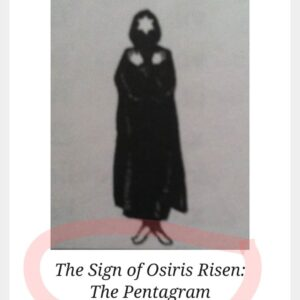 "Osiris Risen. You see celebs do this all the time. It is also symbolic of the ""x"