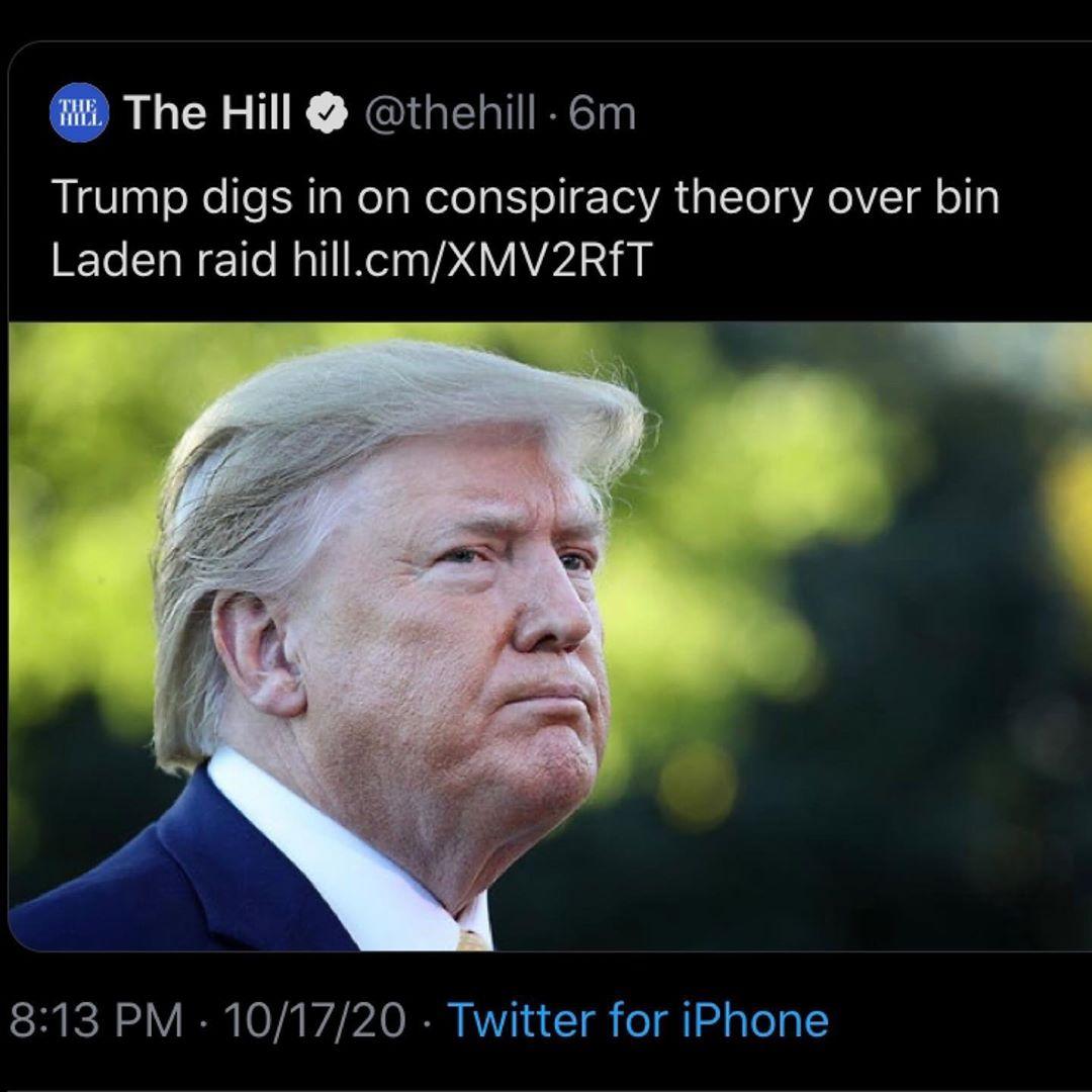 Trump digs up conspiracy theory over Bin Laden raid raid