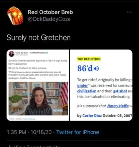 Surely not Gretchen Via