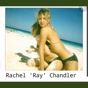 """Let's look at Ray Chandler. She's a """"photographer"""" and socialite – linked to many celebs/elites"""