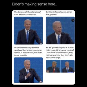 Biden on Fire