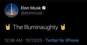 Signal of what's to come or is Elon just fucking with us?==================