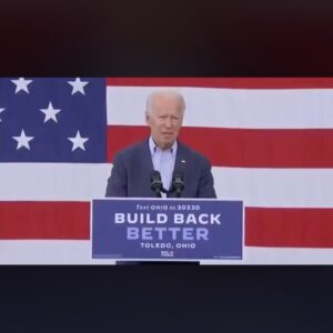 """""""I am running as a proud Democrat for the Senate."""" Joe thinks it could be anywhe"""