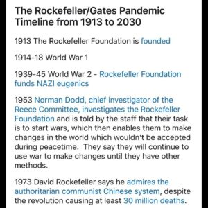 I was pursuing reddit and found this timeline and found it apropos to share. I a