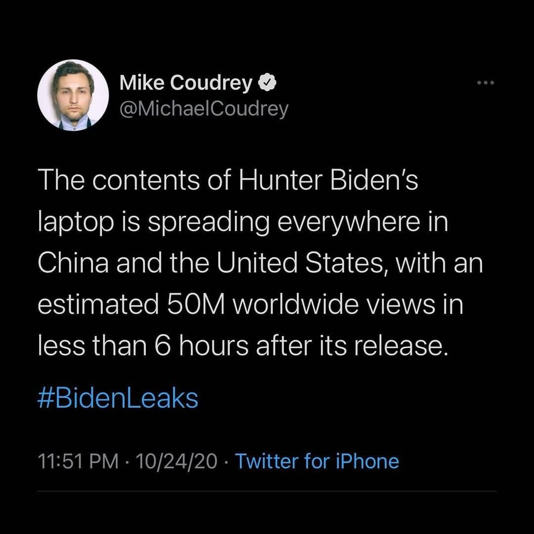 The contents of Hunter Biden's laptop is spreading everywhere in China and the United States