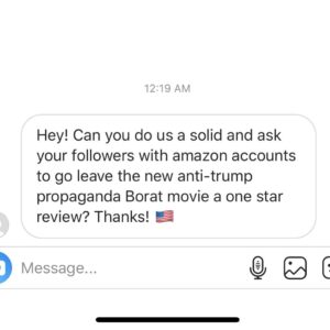 Someone came in my DM's and asked for help. If you're in a position to make a di