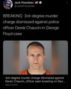 He still has other charges pending but FYI. Remember George Lloyd? I mean George