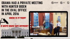 "[Hot broadcast] Nuclear explosion in the White House! The secret shot of Obama's private meeting with Hunter was exposed, and the Biden family staged the drama ""Take the emperor to make the princes""!"