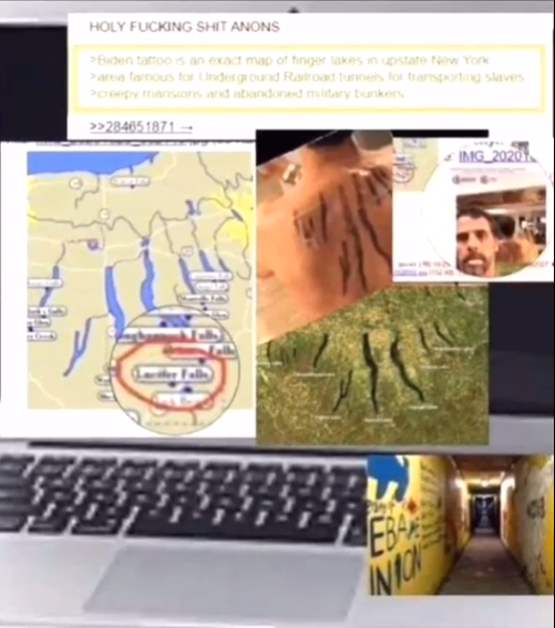 LAPTOP LEAKS: Hunter Biden Tattoo Shows Connection To Underground Sex Trafficking Ring