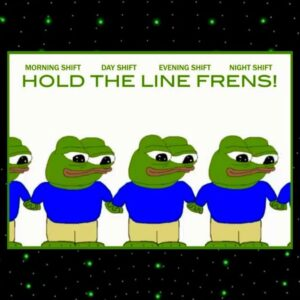 Hold the line Frens.