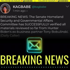 The Senate Homeland Security and Governmental Affairs Committee has SUCCESSFULLY