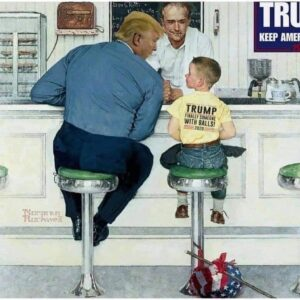 Norman Rockwell updates.