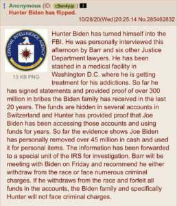 UPDATE: Hunter Biden Turns Himself Into FBI – Anon Theory