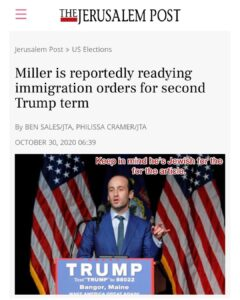 Stephen Miller is one of the most important pieces in the Trump Administration f