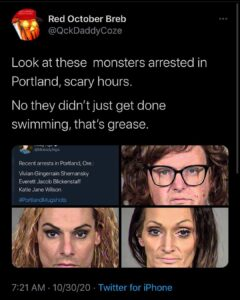 I am convinced Portland & Seattle are on some wicked  ruled by some very powerfu