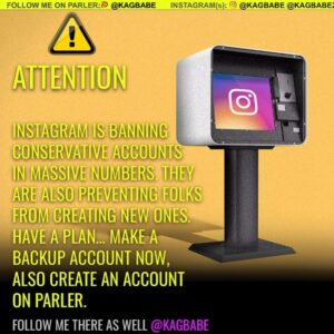 Read more about the article A ton of my friends are being kicked off IG over the past 48 hours.  I suggest y