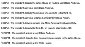 Read more about the article POTUS Schedule 10/12… God bless'em