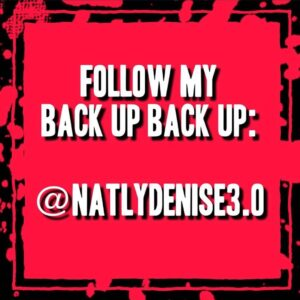 Read more about the article Daily reminder to follow my back up backups:
