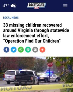 Nothing to see here, just 33 more missing kids. • • • • Follow