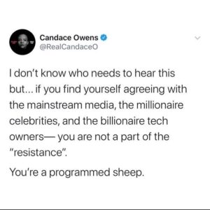 Hit the nail on the head Candace