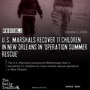 Read more about the article The operation was sponsored and funded by the agency's Missing Child Unit.  Adve