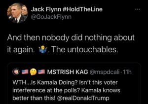 The Untouchables – And then nobody did anything about it again.