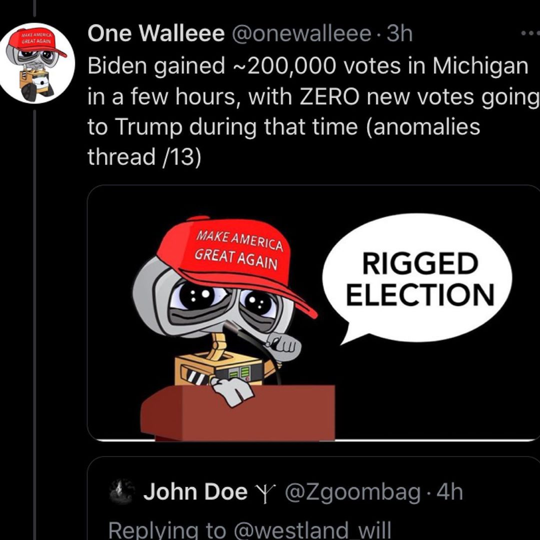 RIGGED ELECTION Anomalies Thread 1/3