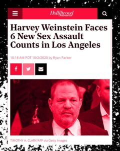 Harvey Weinstein Faces 6 New Sexual Assult Counts In LA