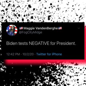 Biden Test NEGATIVE For President
