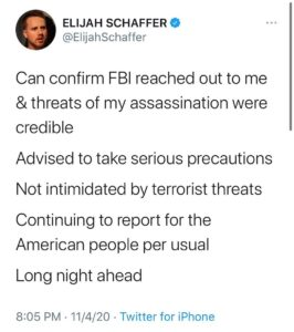 Holy sh*t   is a writer for  who's been reporting on all the corruption. Pray fo