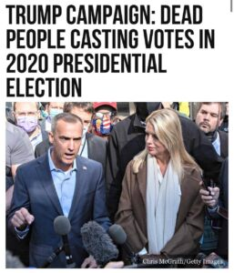 Read more about the article A dead woman did, in fact, vote absentee in Pennsylvania in the 2020 presidentia