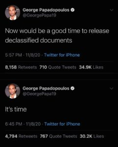 Now would be a good time to release Declassified Documents