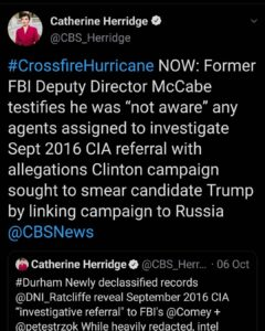 """Read more about the article NOW: Former FBI Deputy Director McCabe testifies he was """"not aware"""" any agents"""
