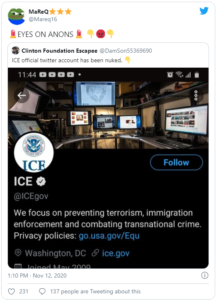 ICE official twitter account has been nuked.