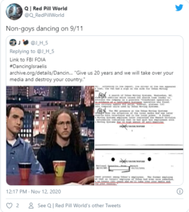 Non-goys dancing on 9/11