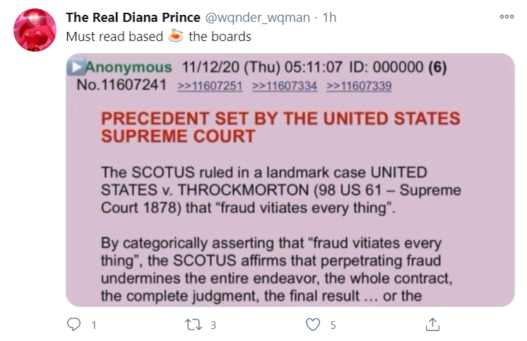 Must read based on the boards – PRECEDENT SET BY THE UNITED STATES SUPREME COURT