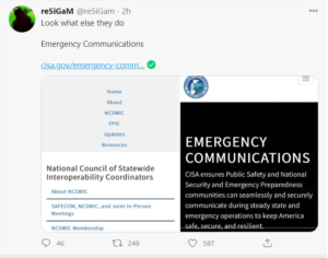 Look what else they do Emergency Communications
