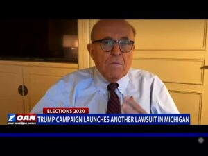 .@RudyGiuliani says they brought in 100,000 ballads through the back door in Mic