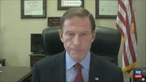 Read more about the article Senator Blumenthal claims that QAnon is the spreader of misinformation (particul